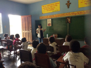 Lectured about nutrition and personal hygiene 1