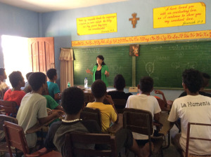 Lectured about sex education 2